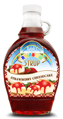 Strawberry Cheesecake Pancake Syrup
